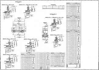 GstarCADConcrete vasbeton szerkesztő program minta rajz
